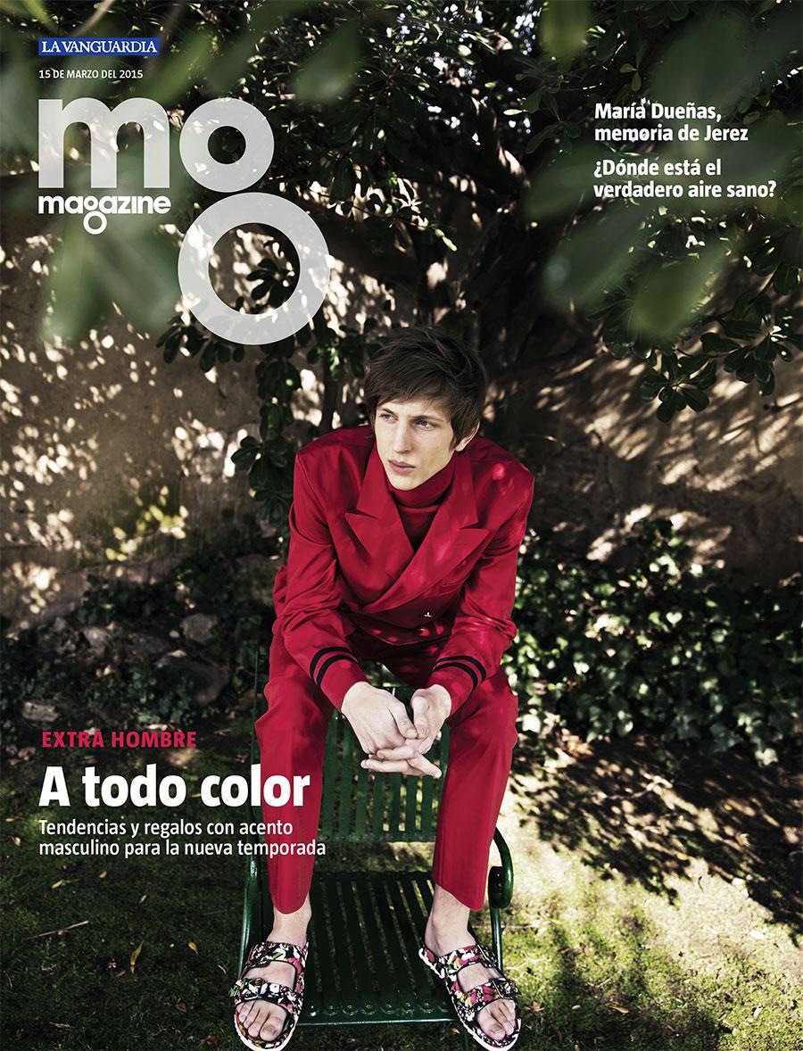 La Vanguardia Magazine. Extra man