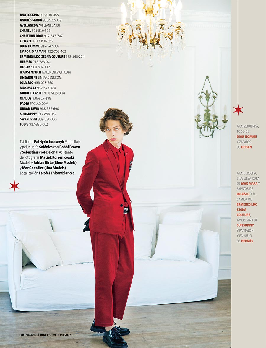 La Vanguardia Magazine. Fiestas en rojo